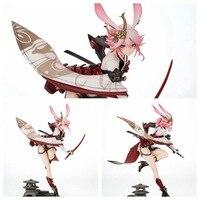26.5cm Game Collapsed Academy 2 Mihoyo Yae Sakura Flame Sakitama Action Figure Toy Doll Christmas Gift