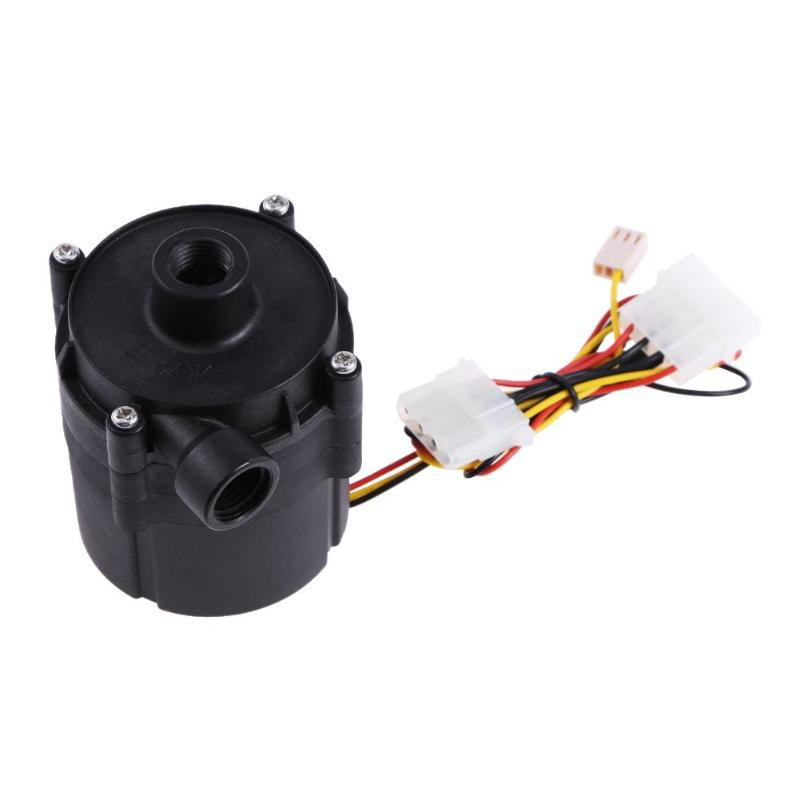 ALLOYSEED DC 12V 18W SC1000 Computer Water Cooling Pump Water Cooler Pump with Speed Controller Maximum Flow 1000L/H цены