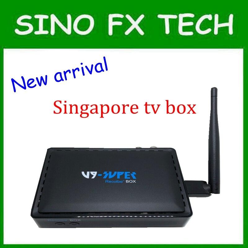 Câble boîte v9 pro Singapour best starhub tv box montre mio singtel football course de chevaux de bande dessinée découverte v9 super starhub