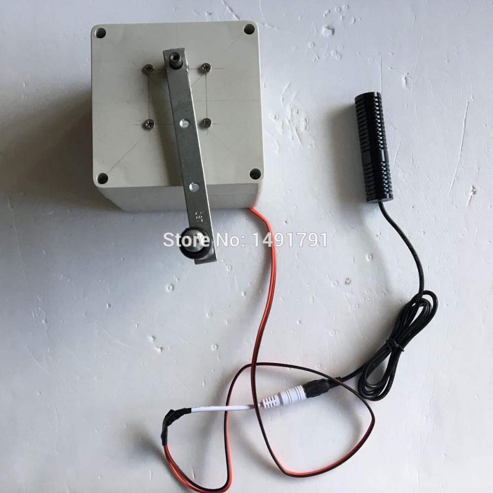 Cible de tir de lumière laser de puissance de générateur électrique de main de pièce d'évasion pour ouvrir les accessoires de serrure