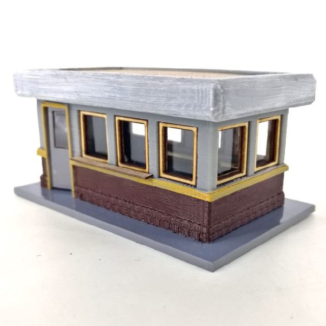 picture about Ho Scale Buildings Free Printable Plans called 1 87 Scale Structures