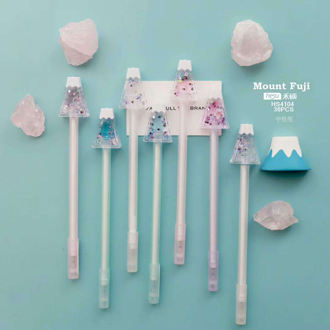 1pcs/1lot Gel Pen Kawaii Candy Mount Fuji School Office Supply Student Stationery Kids Gift Automatic Pencil 0.5mm