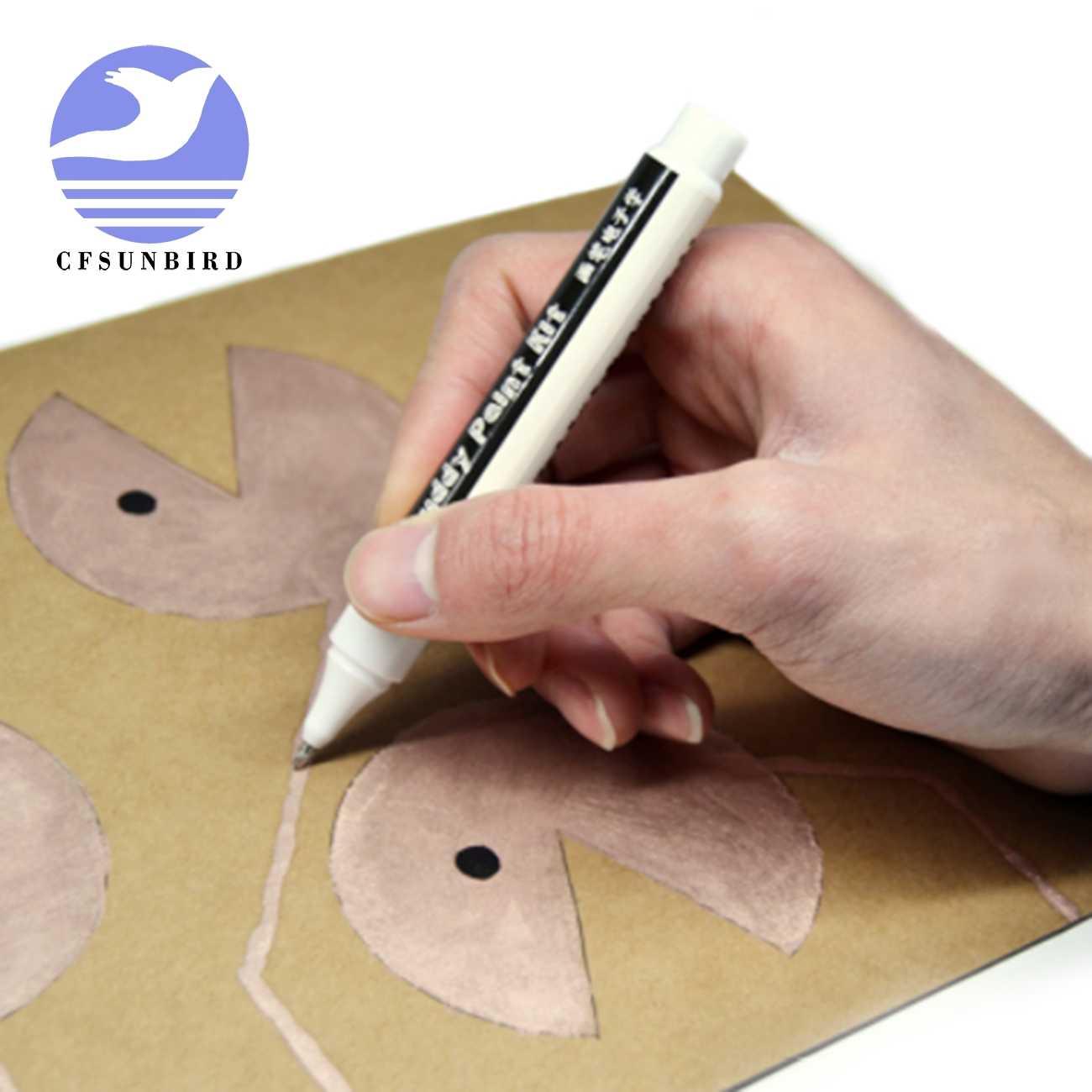 CFsunbird 導電性インクペン電子回路描画瞬時に魔法回路 DIY メーカー学生子供教育黒/ゴールド