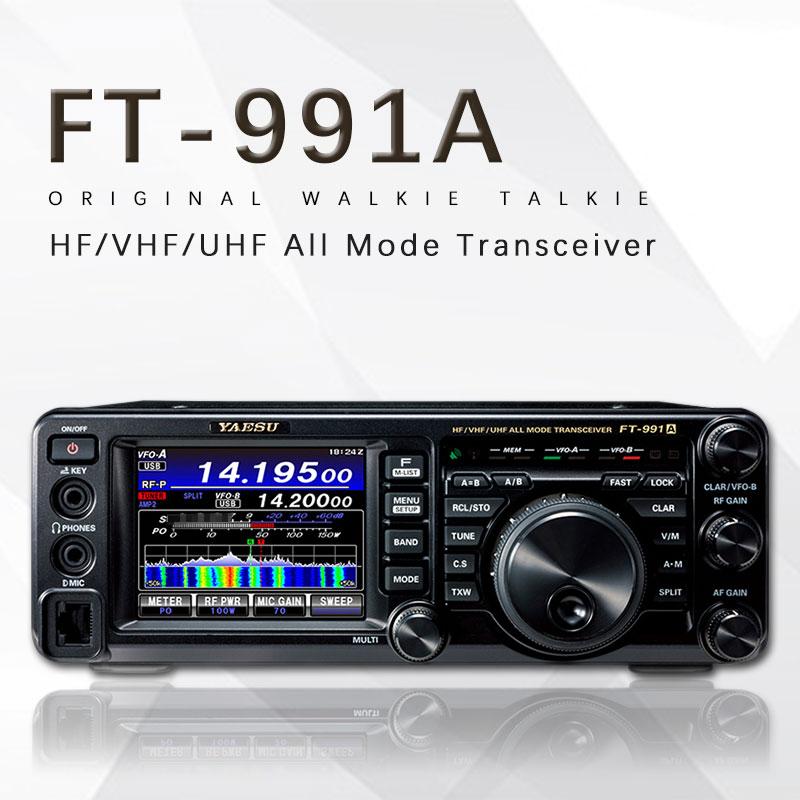 Applicable To Yaesu FT-991A 100W Power HF / VHF / UHF Full-Mode Full-Band Digital Shortwave Car Radio Transceiver