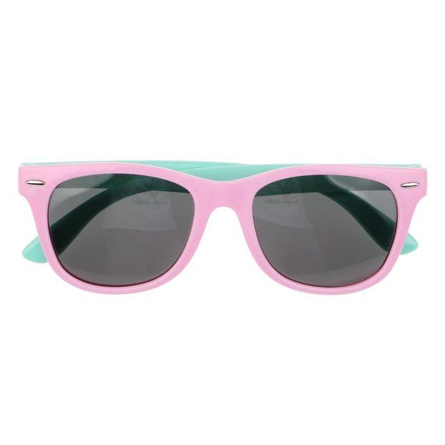 0b88557b51645 Super Moda Flexível Crianças Óculos Polarizados Óculos de Sol UV 400 óculos  de Proteção de Segurança