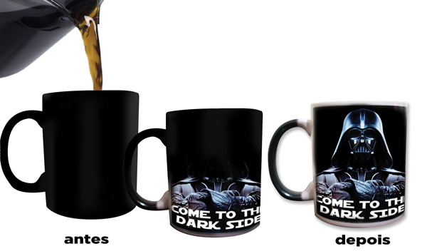 Star wars mugs star wars gifts cups Darth Vader mugs morphing heat reveal coffee mug heat