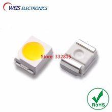 1000 PCS 3528 Natural Branco LEVOU SMD-2 1210 4000-4500 K 3.0-3.2 v 7-8lm ultra bright 6-7lm contas de luz RoHs Frete grátis