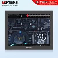 Chinese factory industrial grade 15 inch LCD monitors Waterproof panel LCD Display HDMI/DVI/VGA/DC12V screen