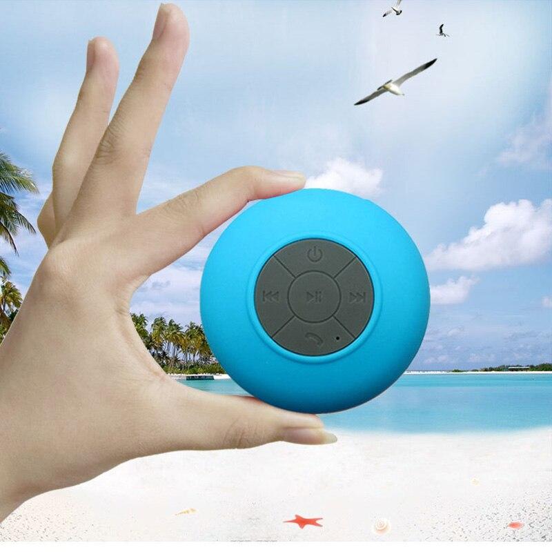Mini Wireless Bluetooth Speaker Portable Waterproof Shower Speakers for phone MP3 Bluetooth Receiver Hand Free Car Speaker 4