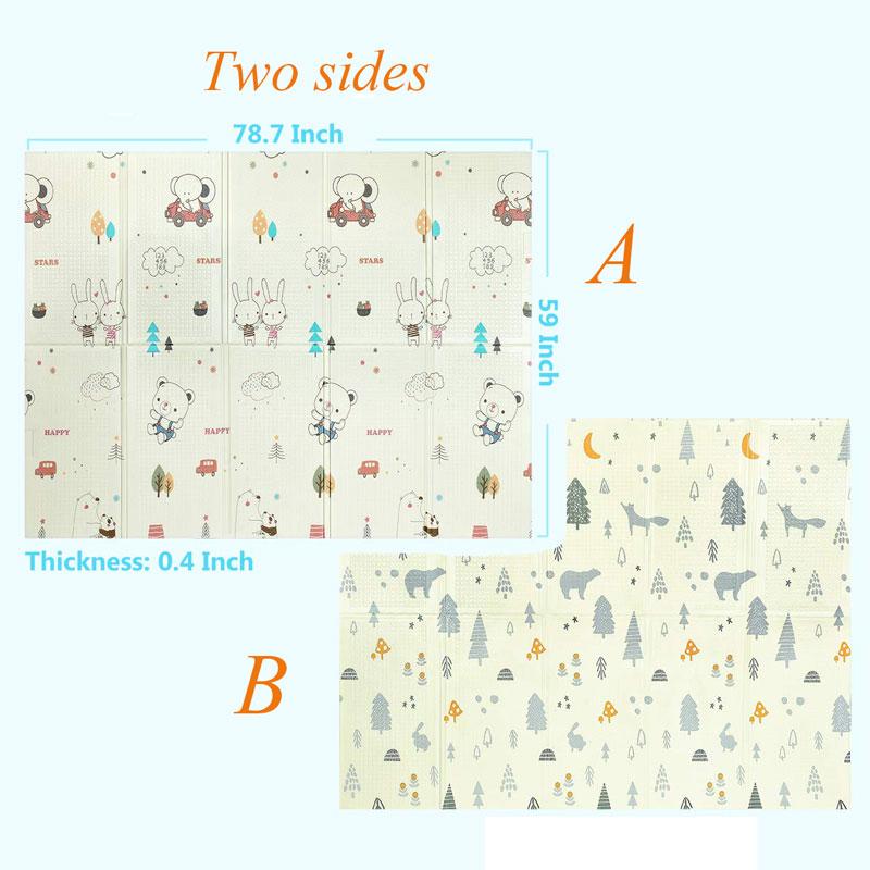 HTB1VTJMaEjrK1RkHFNRq6ySvpXak XPE Baby Play Mat Toys For Children's Mat Kids Rug Playmat Developing Mat Baby Room Crawling Pad Folding Mat Baby Carpet