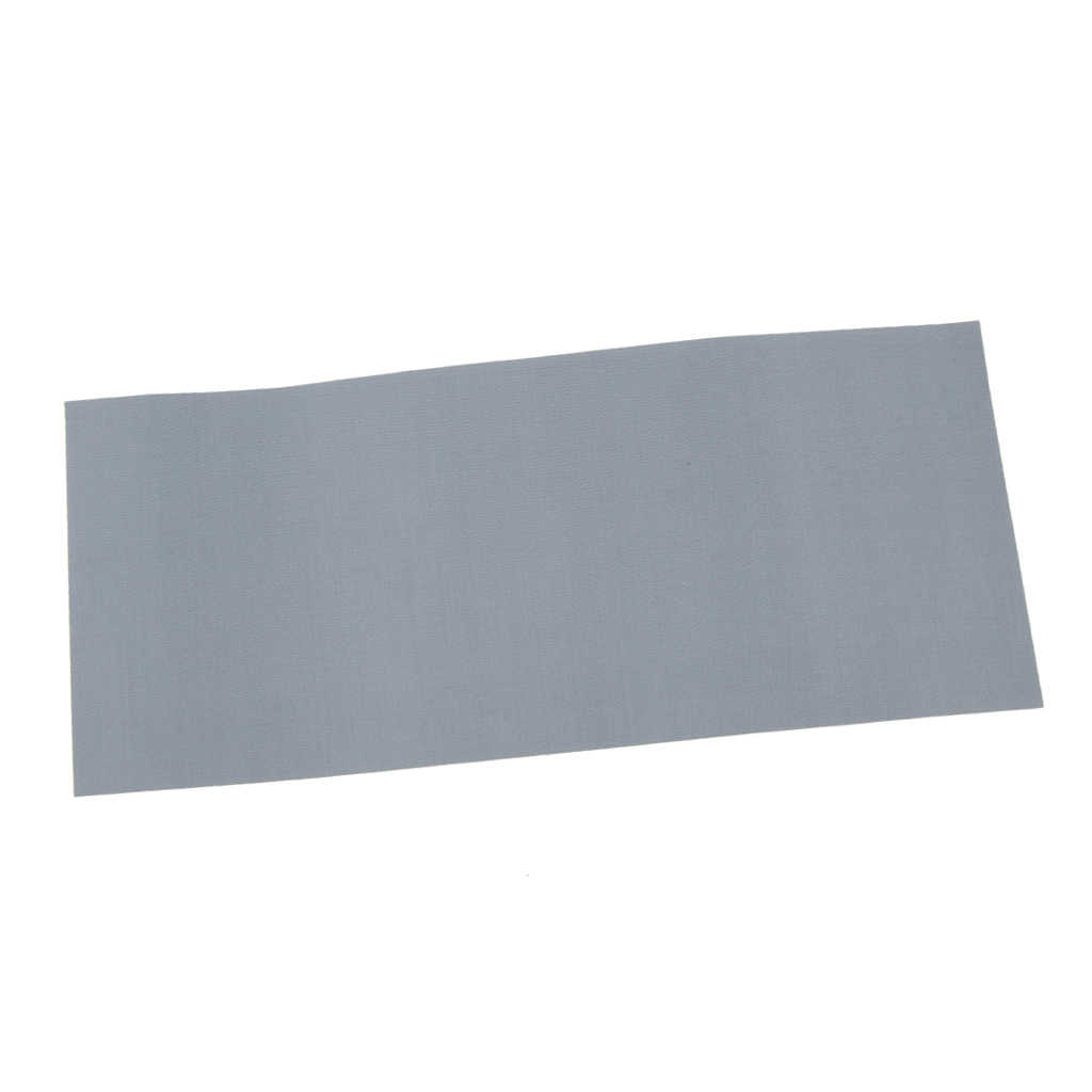 Kain Nilon Tahan Air Tenda Perbaikan Tape Terpal Kanvas Kanopi Tahan Air Tongkat Patch Gray 178X75 Mm