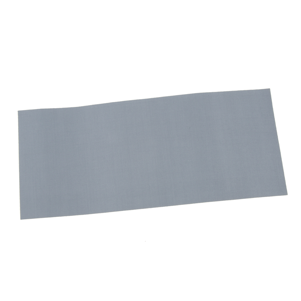 Waterproof Nylon Fabric Awning Tent Repair Tape Tarpaulin Canvas Canopy Waterproof Stick Patch Gray 178 X 75mm