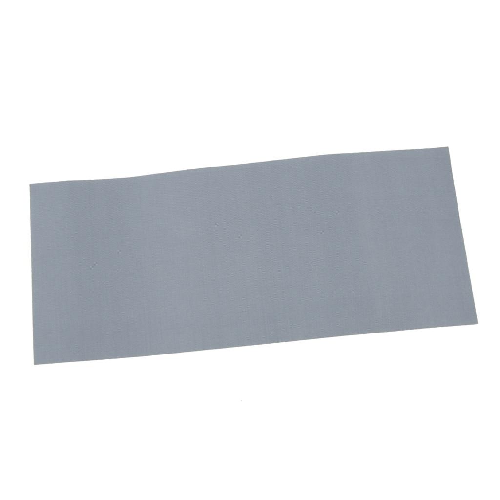 Waterproof Nylon Fabric Awning Tent Repair Tape Tarpaulin Canvas Canopy Waterproof Stick Patch Gray 178 X 75mm