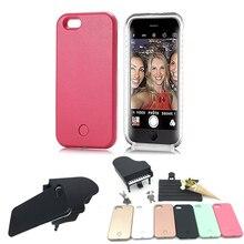LED Flash Lighting Selfie Phone Case for font b iphone b font font b 7 b