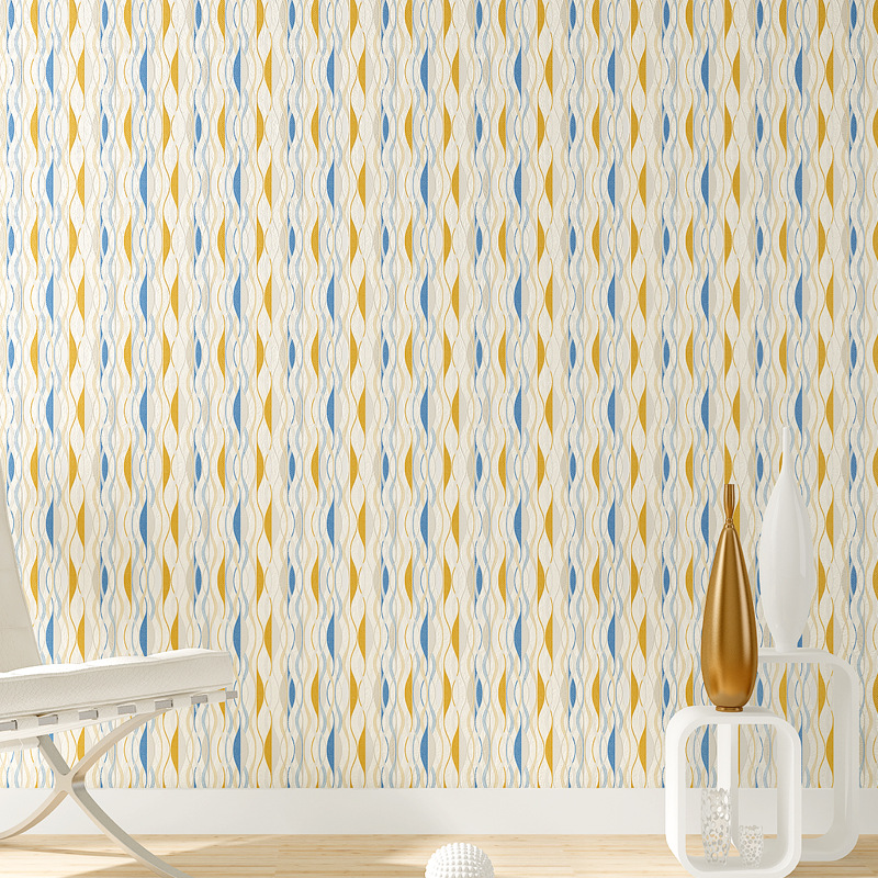Wallpaper Pattern 3d Vinyl Wallpaper Wall Coverings PVC 0.53*10m Waterproof Striped Wallpaper Kitchen Wall Decor Kids Room Decor mandarina duck рюкзак mandarina duck 151hvt01 651