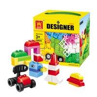 Upgraded Big Size Bricks Set City DIY Creative Toys Child Educational Building Block Legoing Duplo Classic Toy Gift