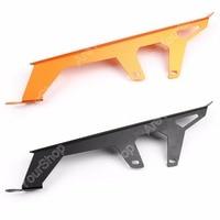 Motor Rear Chain Protector Guard Cover For KTM Duke 1290 1190 1090 1PCS Black Orange Aluminium