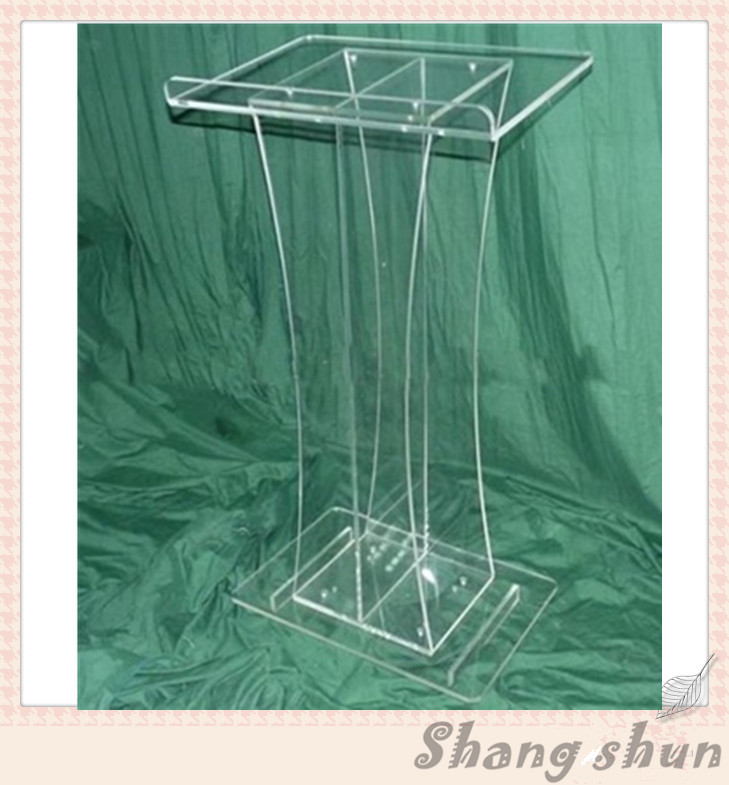 Clear Acrylic Church Podiums Church Conference Exhibition