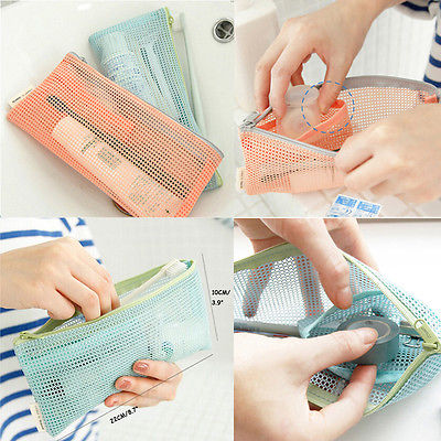 Travel Toiletry Storage Bag Brush Organizer Pencil Case Packing Organizer Travel Accessory