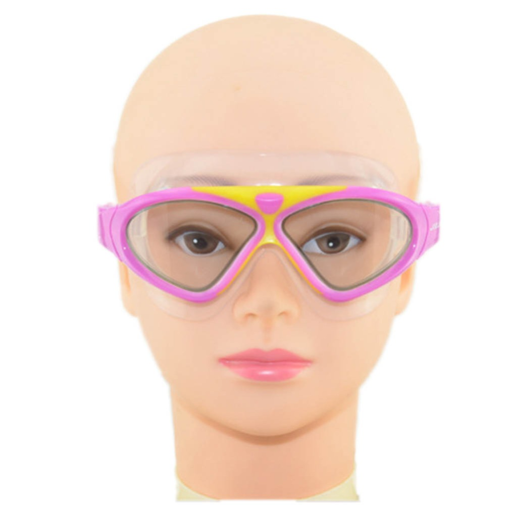New Professional Adult Kid Adjustable Swim Glasses Professional Anti Fog UV Swimming Goggles