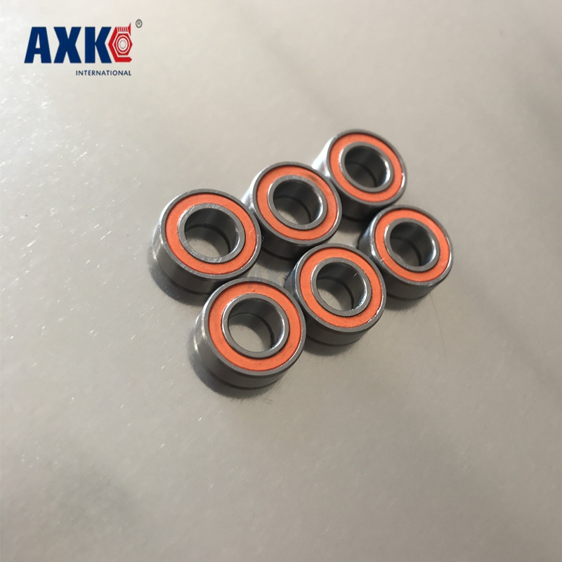 4PCS Blue Rubber Seals Ball Bearings 5x10x4mm MR105 2RS ABEC-3