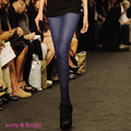 Women Fashion Messy Lines Europe Style Tights Stockings Vintage Patterned Autumn Pantyhose Tight