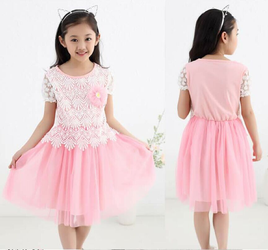 2015 Princess Dress 3 4 5 6 7 8 9 10 11 12 13 Years Old -9341