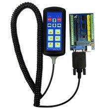 MACH3 USB 5 Axis 100KHz USBCNC Гладкий шаговый контроллер движения карта breakout board+ 1 шт. ручка(можно использовать только для карты STB5100