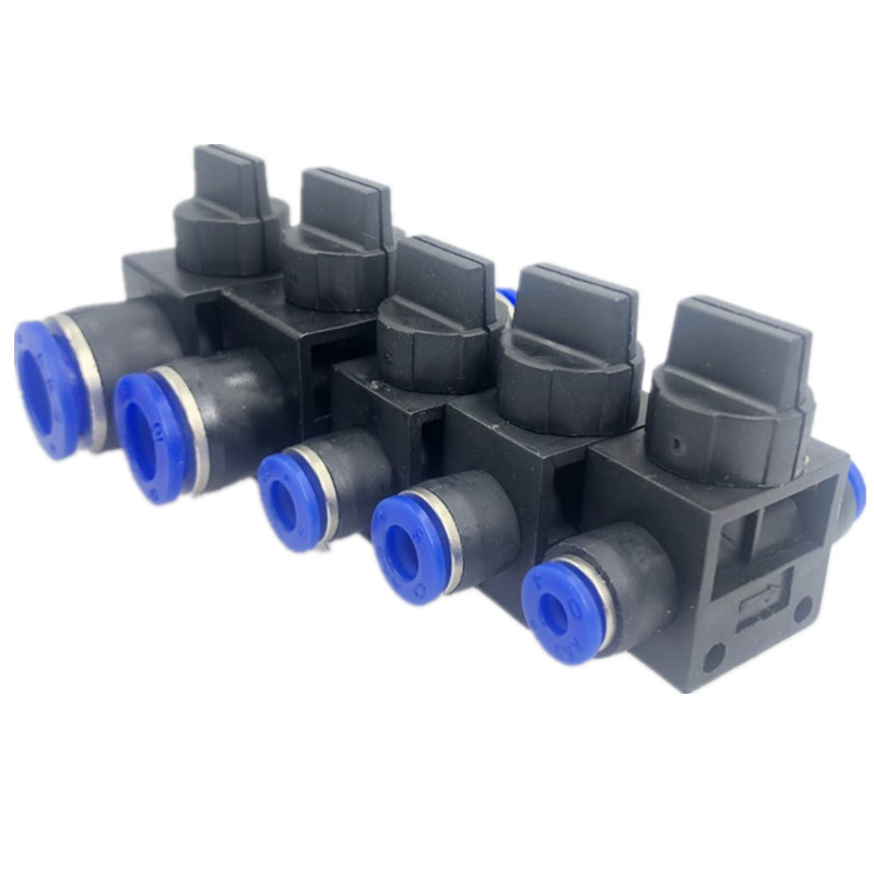 6 Pcs Pneumatic 12mm to 12mm Push In Connector T Shape Quick Fittings