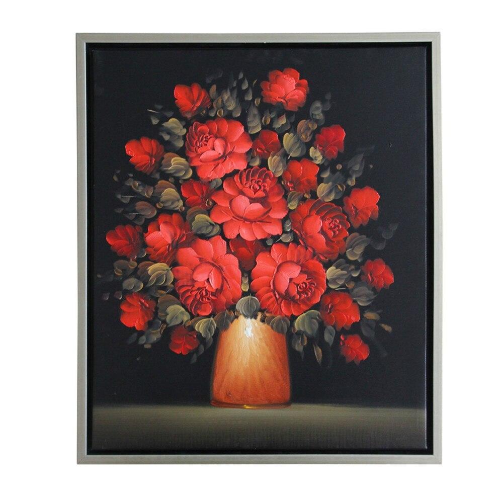 Online kopen wholesale rood zwart wall art uit china rood zwart ...