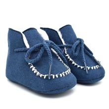 hot deal buy 2018 kacakid winter baby girls boys shoes infants warm fur wool booties sheepskin genuine leather kids fur boots new baby shoes
