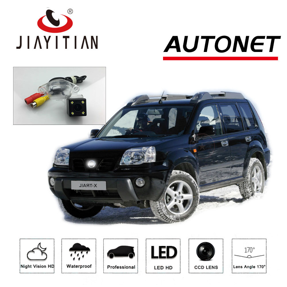 JiaYiTian Rear View Camera For Nissan X-Trail XTrail 2001~2006 T30 backup Camera/CCD Night Vision/Reverse License Plate camera
