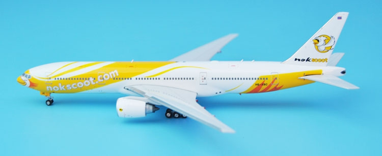 new Phoenix 1: 400 11321 Thai Flying Birds B777-200ER HS-XBC Alloy aircraft model Collection model Holiday gifts fine phoenix 1 400 11198 thai airways b787 8 hs tqb alloy aircraft model collection model holiday gifts