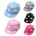 Nuvens bonito impressão boné de beisebol cap chapéu macio moda primavera outono meninos meninas hip hop cap sombreiro ajustável de algodão casuais