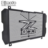 Bjmoto Motorcycle Motocross Stainless Steel Radiator Guard Radiator Grille Cover Protector For Kawasaki Z900 2017 Moto