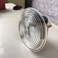 650W 110mm Diameter Round Glass Spotlight Fresnel Lens with IP23 Protection Grade 1PC