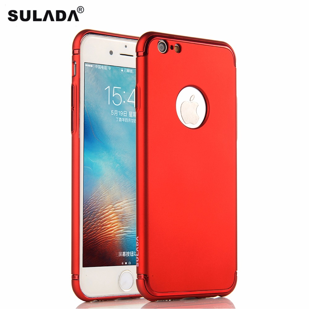 SULADA Full Protection PC Hard Case for iPhone 6 6s Luxury