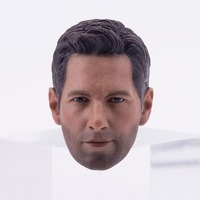 1/6 Head Sculpt Civil war Ant people Paul Luther Head Carving Model For 12 Action Figure