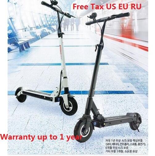 2018 RUIMA mini 4 étanche version 48 V 15.6A BLDC HUB puissant scooter imperméable à l'eau forte scooter électrique