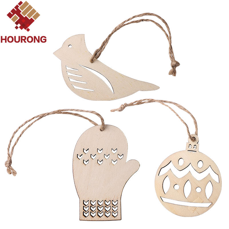 Online Get Cheap Unfinished Wooden Christmas Ornaments