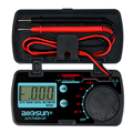 all-sun EM3082 Mini Auto Range Digital Multimeter Tester AC DC Ammeter Voltmeter Ohm Portable Pocket Meter voltage meter