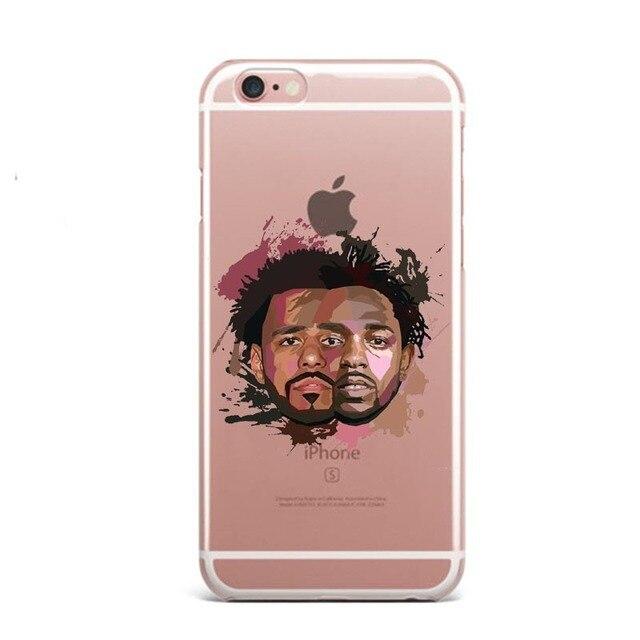 6a5e7e3ddb95f Phone Case Kendrick Lamar & J Cole painting art Soft Silicone TPU ...