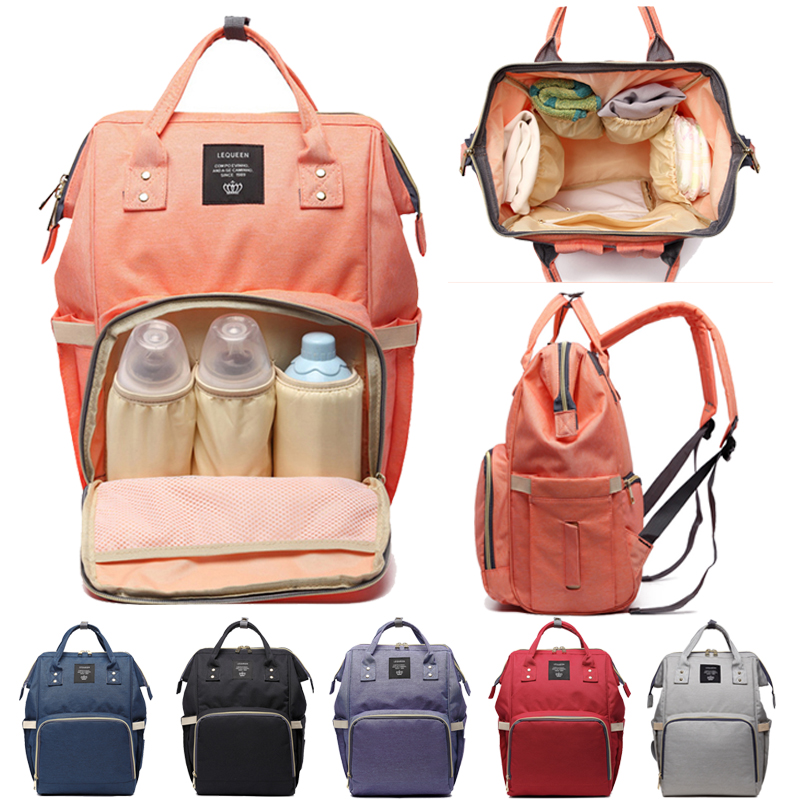Diaper Bag Maternity Bag For Baby Waterproof Fashion Nappy Changing Backpack For Moms Stroller Organizer Mommy Baby Nappy Bag