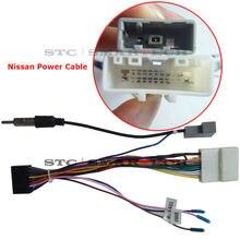 Smartech android coches reproductor de dvd gps de navegación de radio estéreo cable de alimentación unidad principal para nissan y toyota