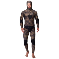 3mm Neoprene Spearfishing Wetsuit Full Body Two piece With 2mm Vest For Men Underwater Hunting Diving Swimming Wetsuits WS 200AC