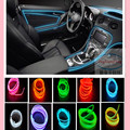 Car styling el products EL Wire Cold Neon Light for vw polo golf 4 5 beetle passat b5 b6 touran jetta tiguan touareg