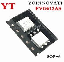 50 قطعة/الوحدة PVG612AS PVG612A PVG612 6 SMD SOP 6 IC أفضل جودة
