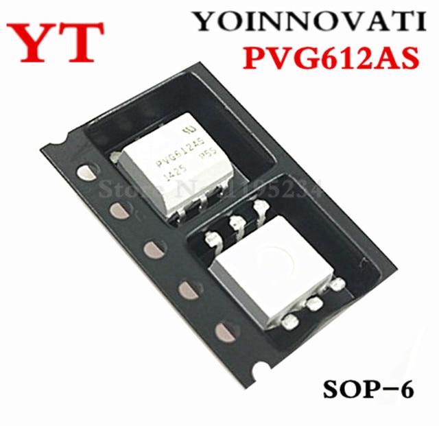 Unids/lote PVG612AS PVG612A PVG612 6 SMD SOP 6 IC de la mejor calidad, 50 unidades