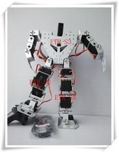 משלוח חינם 17 DOF דמוי אדם חינוכיים רובוט גבוהה סוף תחרותי רובוט התאמה עם מתכת ציוד דיגיטלי Robotservo RDS3115