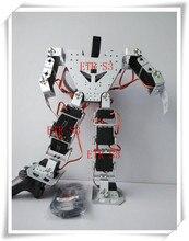 Freies verschiffen 17 DOF humanoiden Pädagogisches roboter Hohe ende günstigen roboter passenden mit metall getriebe digital Robotservo RDS3115